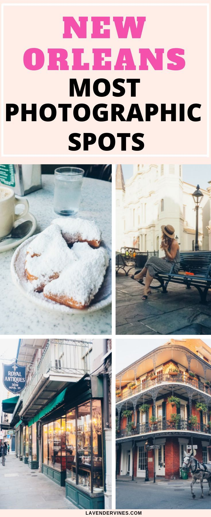Looking for New Orleans photography ideas? New Orleans is the perfect place for a photoshoot, there's so much beauty in the French Quarter when it comes to photography! #neworleans #frenchquarter #photography #usa #travel #travelplanning #travelinspiration