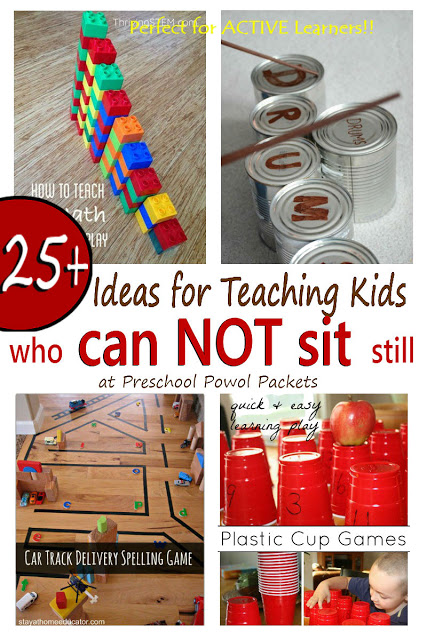 Photo of 25+ Ideas for Teaching Kids Who Can't Sit Still!