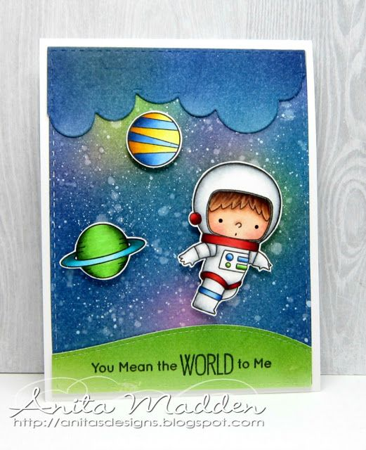 Just A Pigment Of My Imagination You Mean The World To Me Interactive Cards