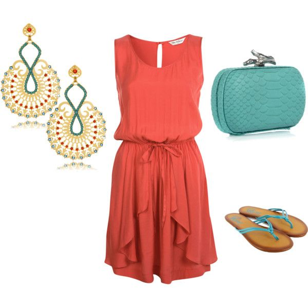 My Style - Turquoise & Coral
