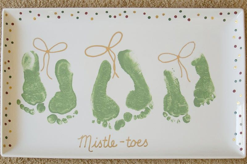 Morrison Miracles: January 2014 #mistletoesfootprintcraft