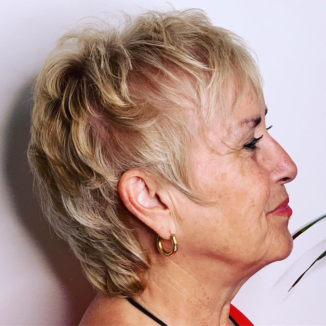 50 wonderful short haircuts for women over 60 in 2020