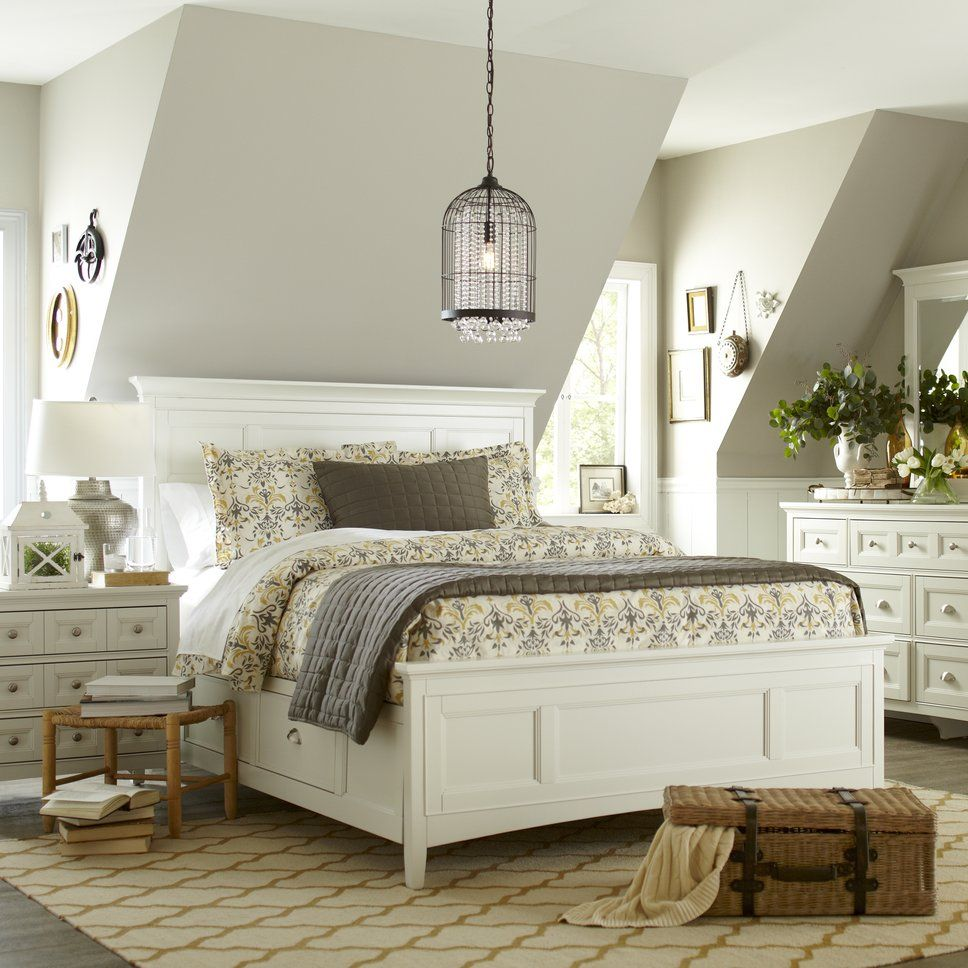 Cottage/Country Bedroom Design Photo by Wayfair  Bedroom design