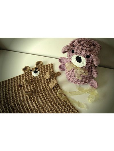 Roly Poly Teddy Blankets | Crochet and Knitting | Pinterest