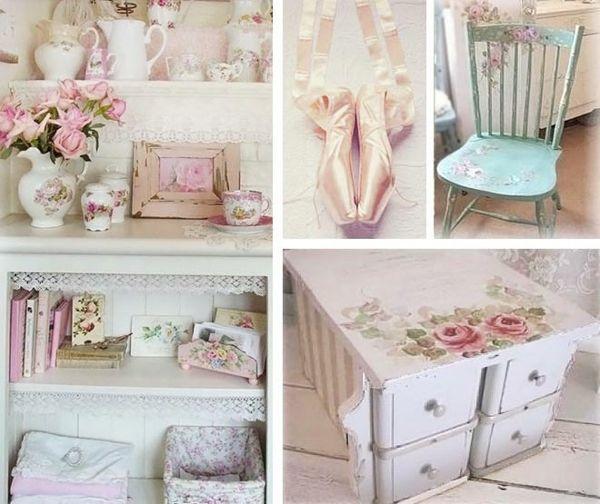 shabby chic dekorieren. Black Bedroom Furniture Sets. Home Design Ideas