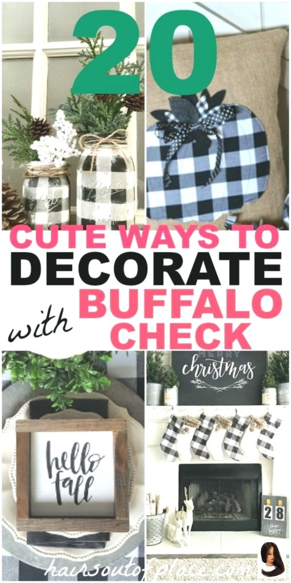 Buffalo Check Decor Ideas for Christmas, fall and year-round decorating Home Decor kitchen Buffalo Check Decor Ideas for Christmas, fall and year-round decorating        20 buffalo check decor ideas to add year-round rustic charm to your home! Christmas buffalo check, fall buffalo check and ideas with curtains, kitchen, your bedroom and DIY buffalo check ideas and more are included!
