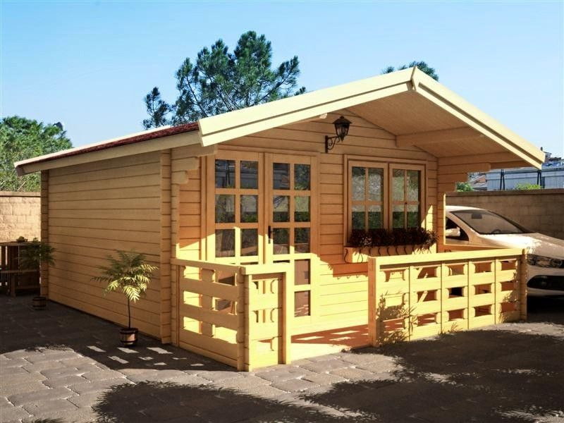 Tiny Home Pool House Garden Shed Storage Unit From 43sq