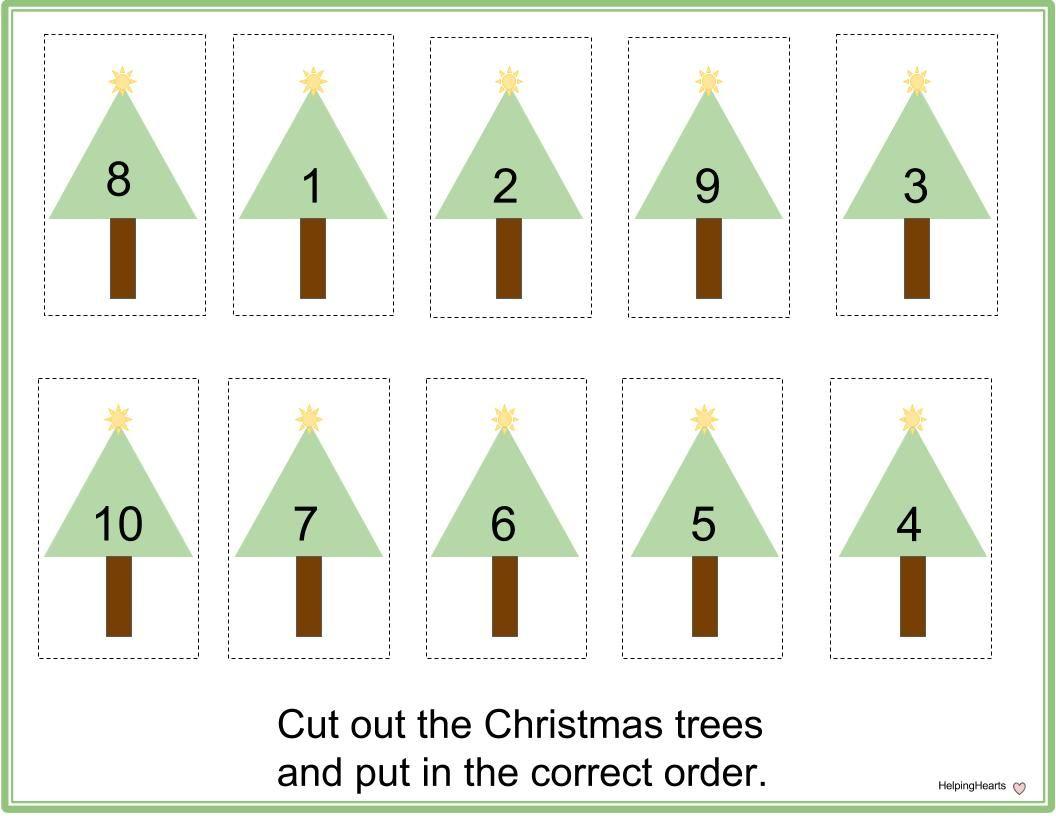 Christmas Tree Order Numbers