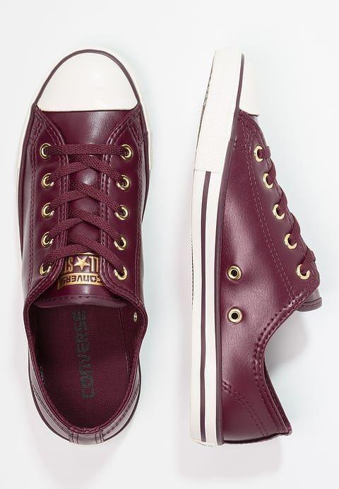 b9410bf13ad Converse CHUCK TAYLOR ALL STAR DAINTY CRAFT SL - Sneaker low - dark  sangria/gold/egret für 59,95 € (27.12.17) versandkostenfrei bei Zalando  bestellen.