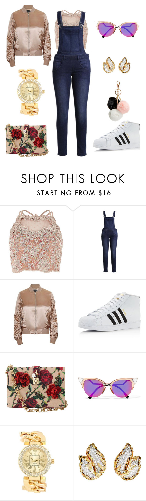 """""""going to central park to steal your baby daddy"""" by telfortsamantha ❤ liked on Polyvore featuring Cheap Monday, Topshop, adidas, Dolce&Gabbana, Fendi, Charlotte Russe, Mahnaz Ispahani and GUESS"""