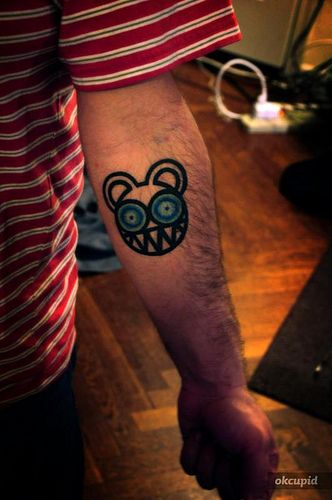 radiohead tattoo by dj philly g tattoos pinterest radiohead tattoo radiohead and tattoo. Black Bedroom Furniture Sets. Home Design Ideas