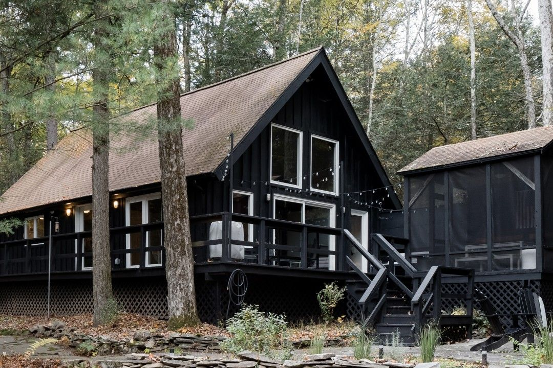 Modern Catskills Cabin In The Hudson Valley Cabins For Rent In Accord Cabin Catskills Hudson Valley