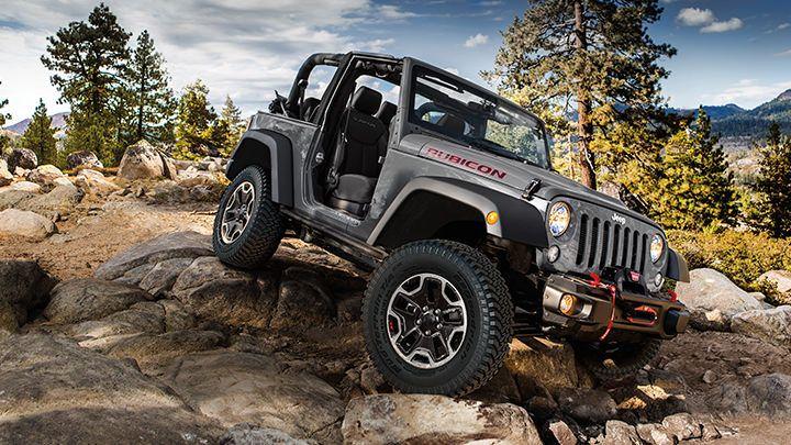 Love The Granite Color On The #Jeep Wrangler Rubicon X.