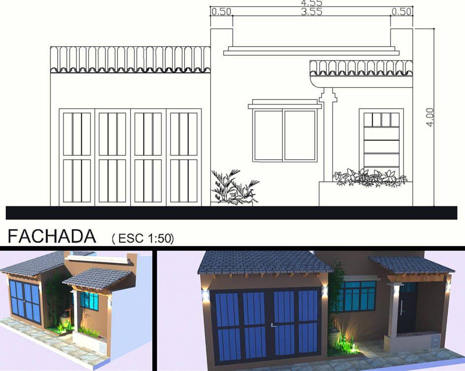 Mirá imágenes de diseños de before_photo estilo }: Fachada. Encontrá las mejores fotos para inspirarte y creá tu hogar perfecto.