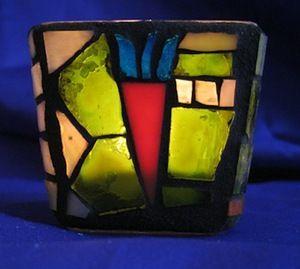 Mosaic votive