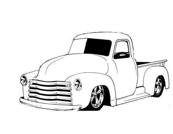 pin de kerry sr en car  truck b  w illustrations