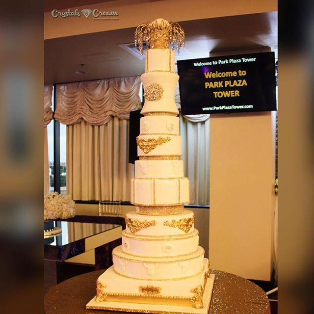9 best images about Crystals and Cream Wedding Cakes on Pinterest