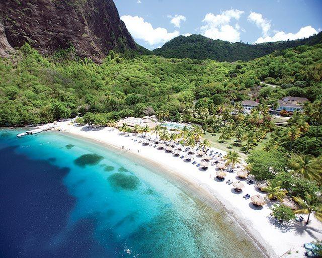 St Lucia Beaches Sugar Beach