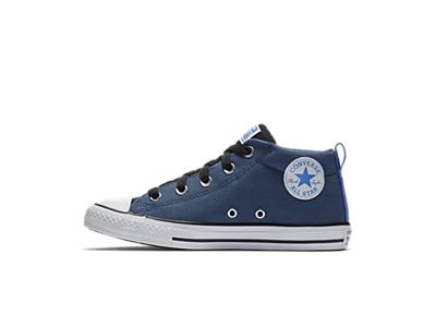 8bbd4b49237 Converse Chuck Taylor All Star Street Fall Uniform Mid Boys' Shoe ...