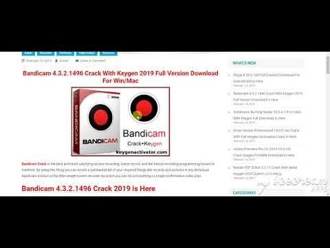 download bandicam full version 2019