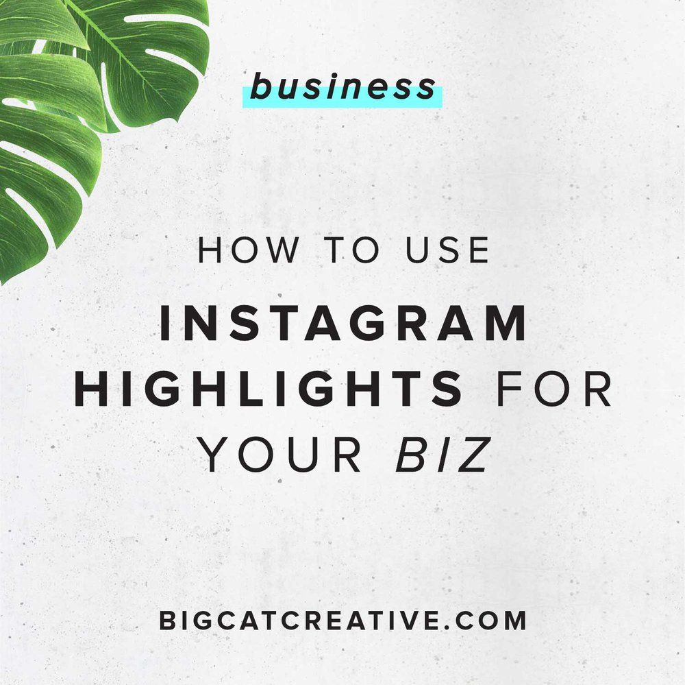 The Ins and Outs of Instagram Highlights Small business