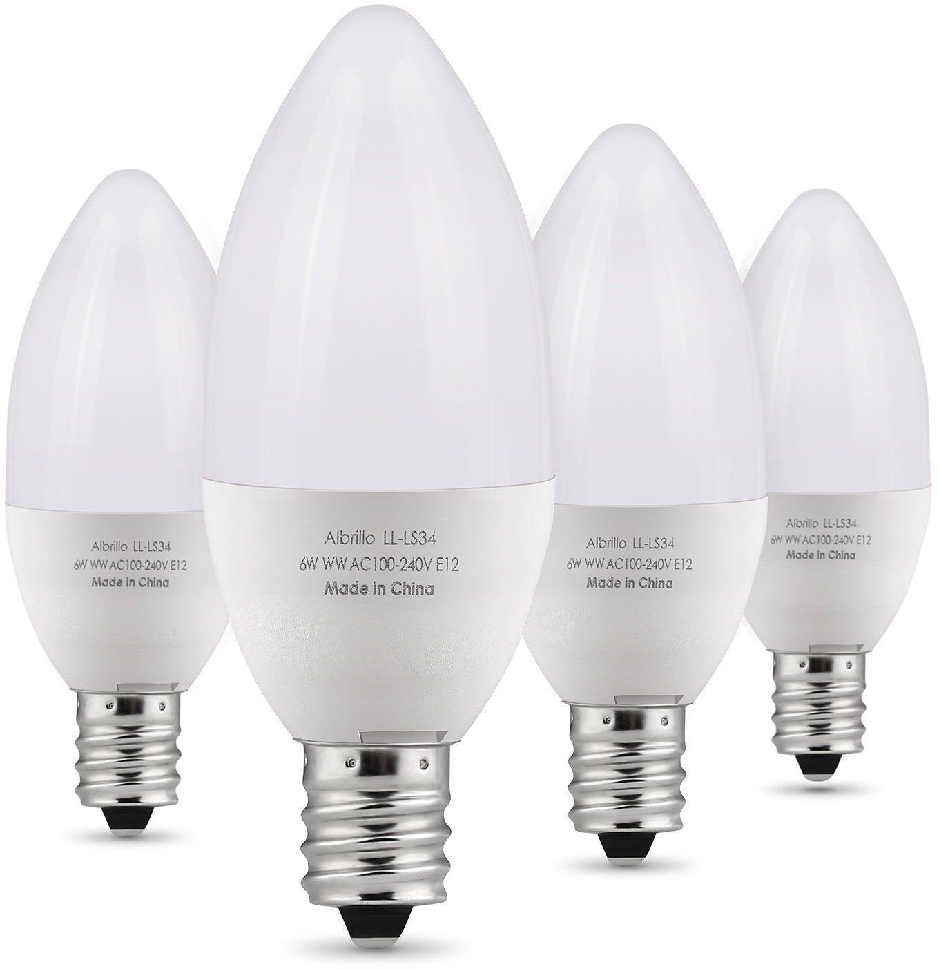 60 Watt Candelabra Incandescent Bulbs