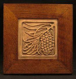 Decorative Tile Frames Arts And Crafts Frames  Motawi Tiles And Other Unique Item For