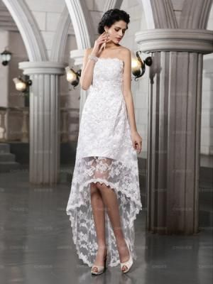 With Out The Little Tail At End Good Reception Dress
