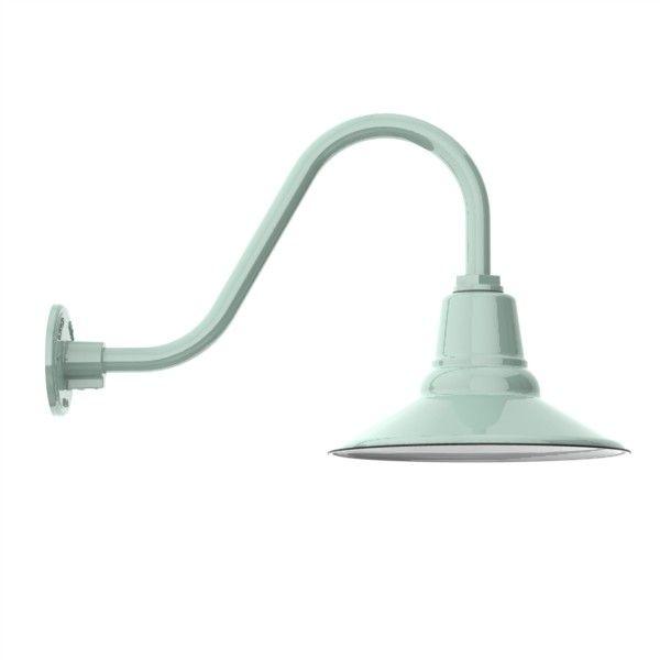 Goodrich™ Aero Porcelain Gooseneck Light Via @Barn Light