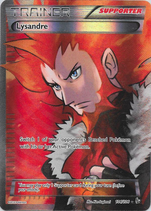 Lysandre (Flashfire) - full art