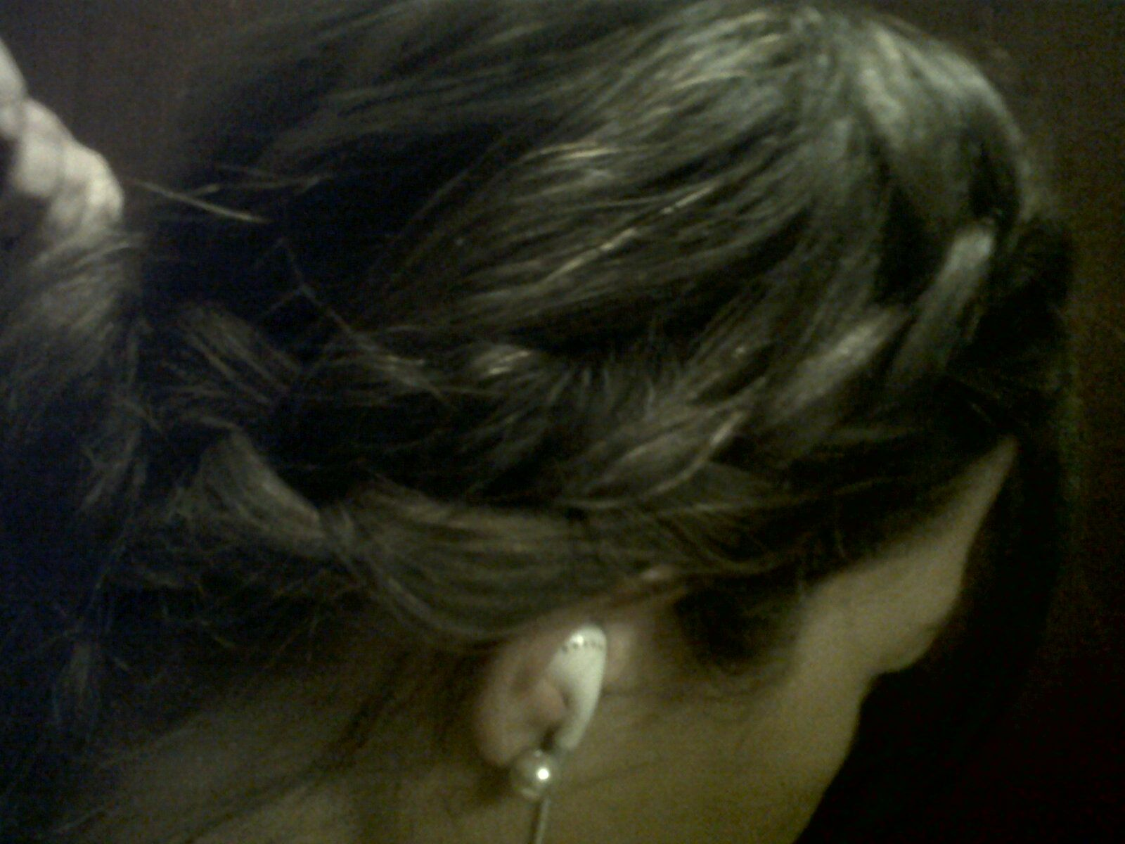 Easy to make and chic....My hair yesterday