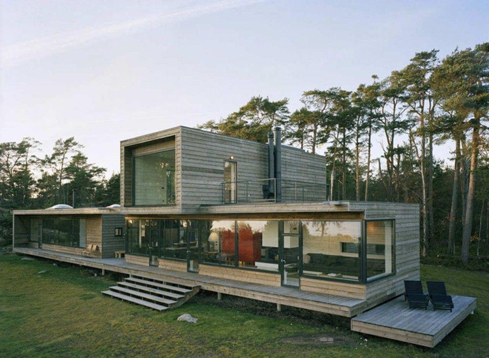 Villa Plus Waldemarson Berglund Arkitekter Villas
