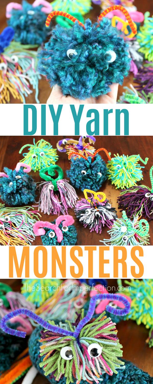 Photo of DIY Yarn Monsters – Fun and Easy Kids Craft