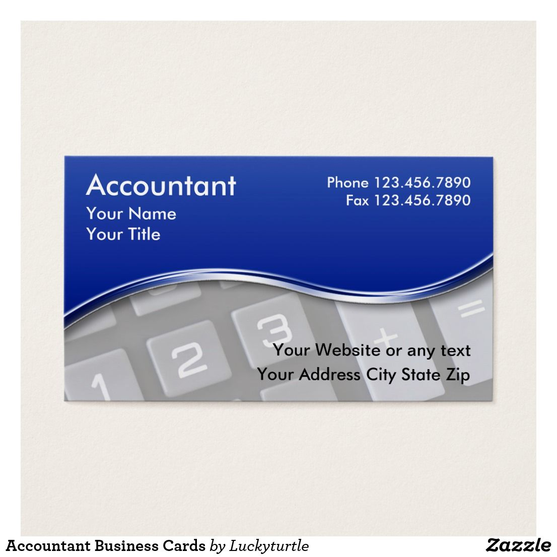 Accountant Business Cards Custom Check out more business card ...