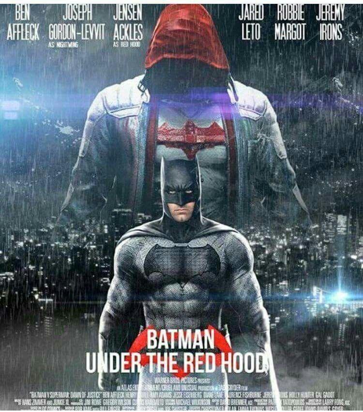 Batman Under The Red Hood Fan Made Movie Poster Batman Batman Batman Family Hood Fan