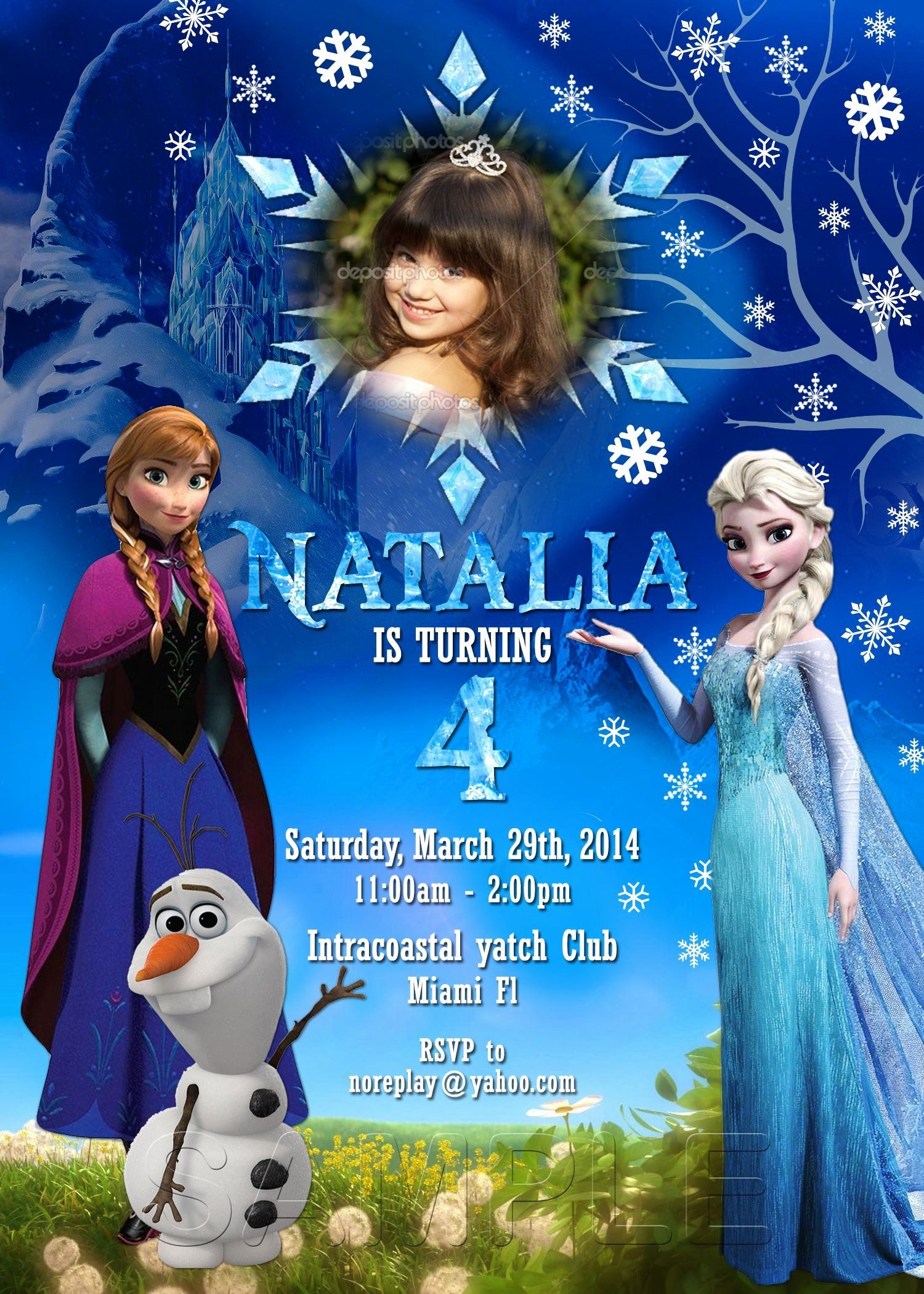 Frozen Birthday Invites Template Beautiful Disney Frozen Birthday Frozen Invitation Fr Disney Frozen Invitations Frozen Invitations Frozen Birthday Invitations