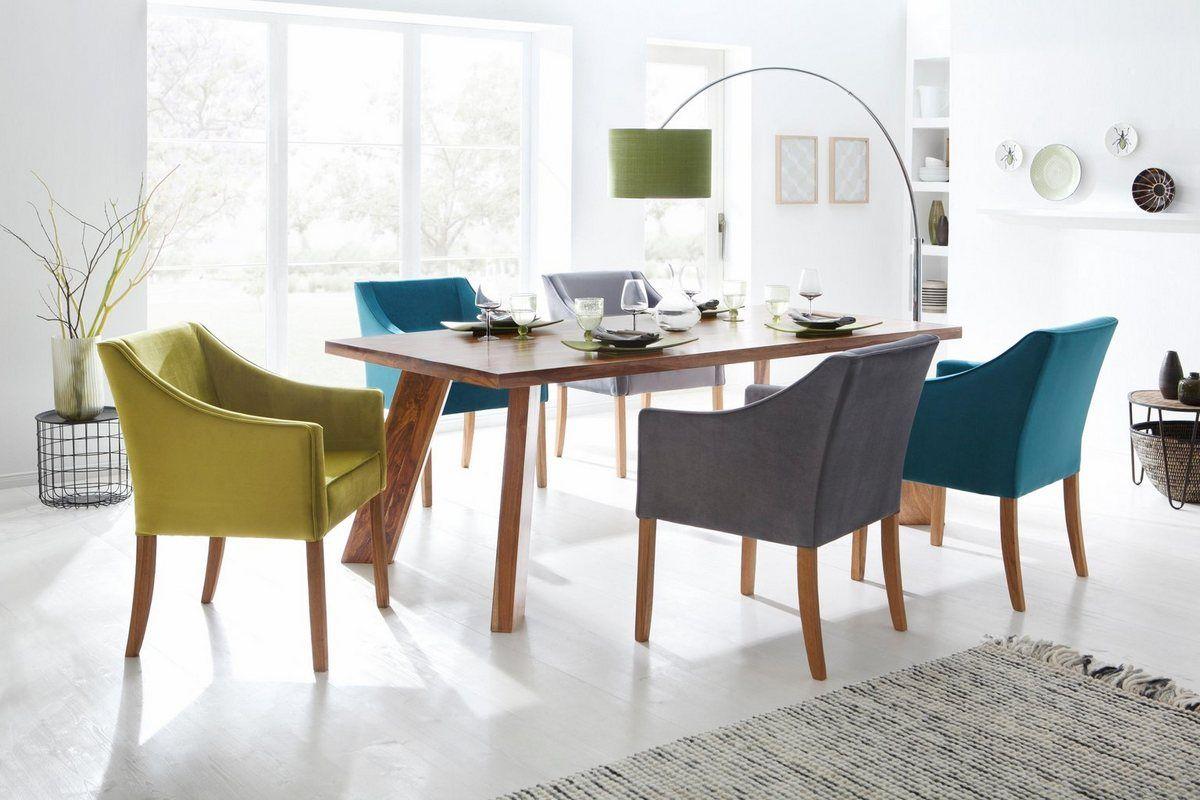 4 Fussstuhl Leonor 5 Farben Zur Auswahl Mit Ausserer Paspel Esszimmerstuhle Stuhle Und Armlehnstuhl Esszimmer
