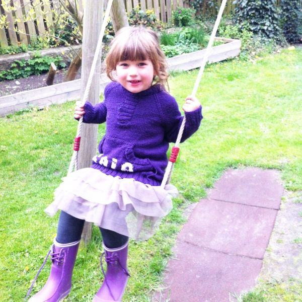 Gaia Love Is Having LOTS Of Fun Swinging. This Girl Moves My Heart, And