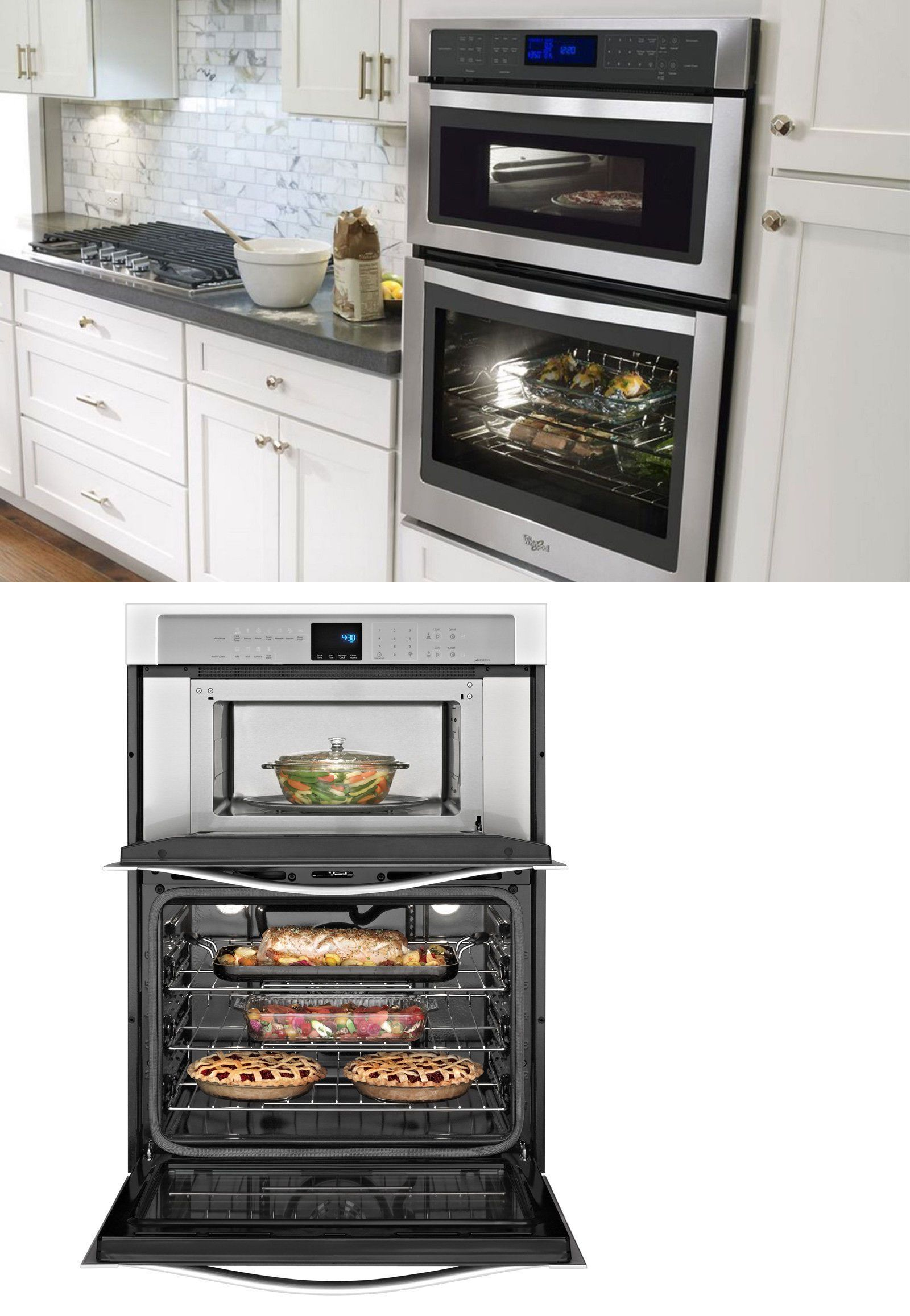 wall ovens 71318 whirlpool gold woc54ec0as 30 inch on wall ovens id=31042