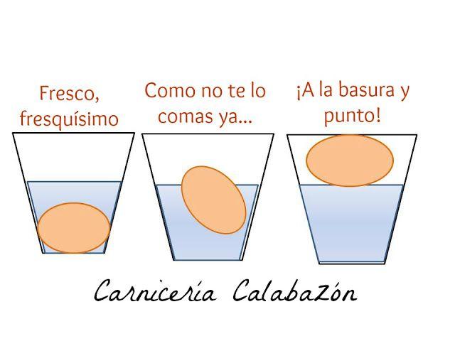 Carnicería Calabazón Saber Si Un Huevo Es Fresco Consejos Y Trucos Trucos Carnicerias Ideas
