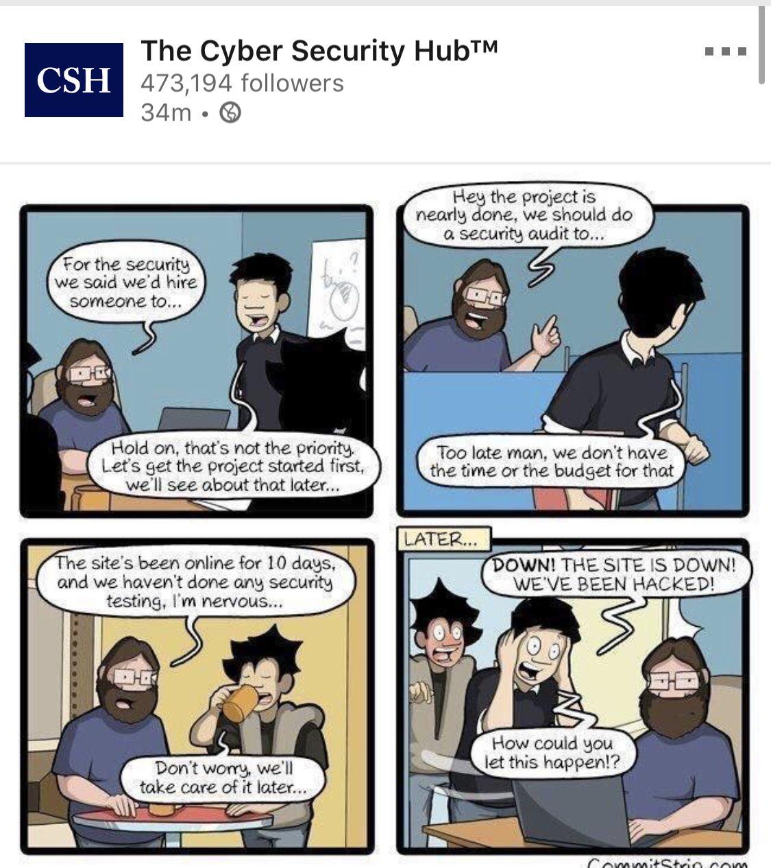 Cyber security image by Jordan Kassing on InfoSec
