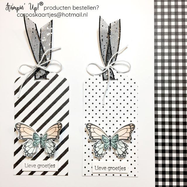 Caro's Kaartjes | Onafhankelijk Stampin' Up! demonstratrice | www.carooskaartjes.blogspot.nl | carooskaartjes@hotmail.nl | Stampin' Up! verkooppunt | Stampin' Up! | Stampin' Up! Nederland | vlinderdans | Nederlandse stempelset | Stampin' Up! lente/zomer catalogus | Botanical Butterfly designer series paper | glitter lint | label | catalogus | stipjes | streepjes | Stampin' Up! ponsen | Stampin' Up! papier | Stampin' Up! stempels | Stampin' Up! bundle kaarten maken | |stempelen | creatief met pap #stampinupcatalog