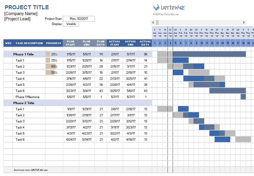 Create A Project Plan Easily Using This Free Project Planner Template For Excel Simple To Project Planner Template Project Planning Template Planner Template