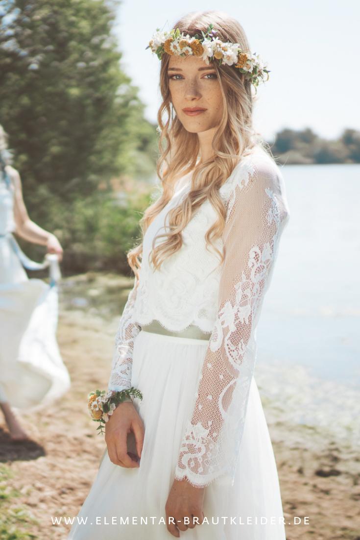 Spitzentop mit Tüllrock - für deine Hochzeit im Boho Stil ...