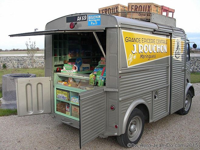 Célèbre Hy épicier ambulant | Camion magasin Mobil Shop Etalmobil Alquier  OG04