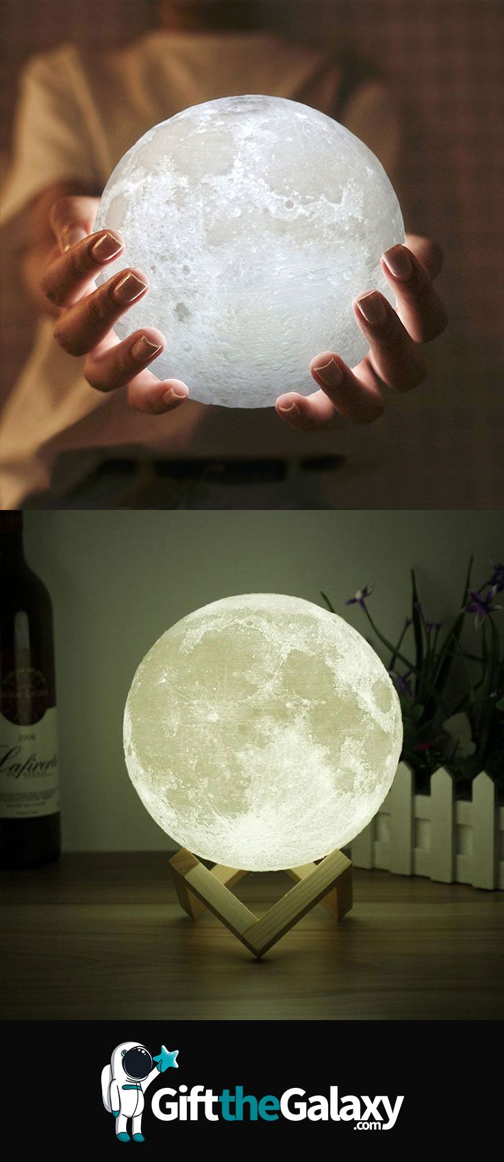 Enchanting 3D Moon Light | Awesome Space Gift Ideas | Gift ...