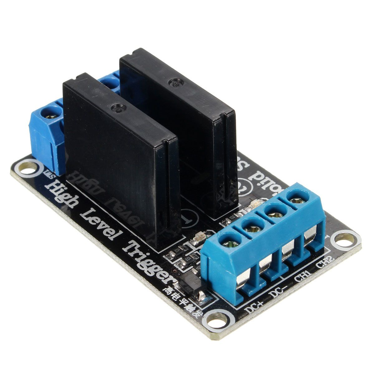 Dc 5v 240v 2a 2 Channels Solid State Relay Module High Level For With Resistive Fuse 2channel Affiliate
