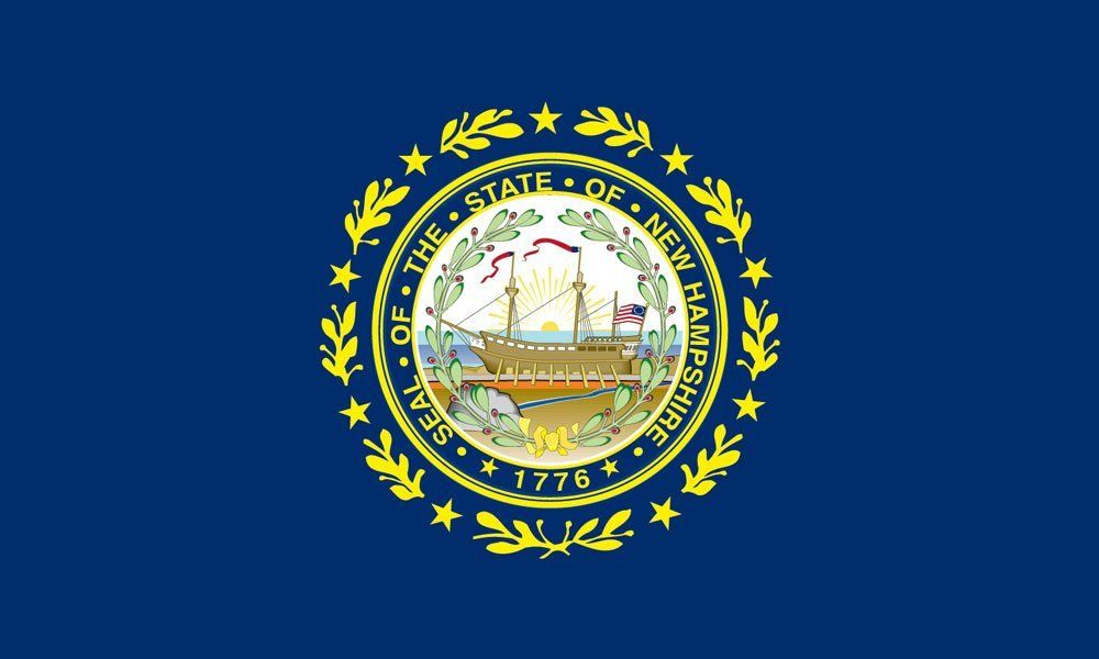 New Hampshire State Flag Coloring Pages Flag Coloring Pages New Hampshire State Flags