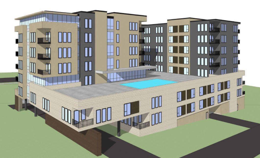 Developer Plans 8 Story Building With 278 Apartments On Dodge Says Unmc Is Creating Demand Money Omaha Com Apartment Projects Building Apartment Building