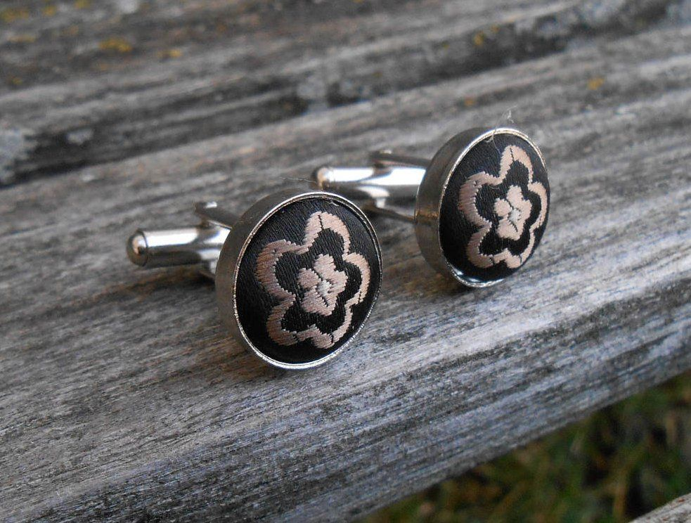 Groomsmen Cufflinks Jewelry For Men Silver Tone CuffLinks Best Gift For Dad Groomsmen Gifts Gifts for Him